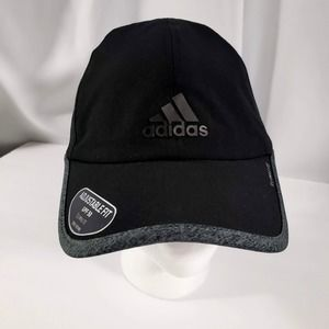 Adidas Black and Gray Hat, climalite, adjustable